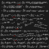 Vector background with mathematical symbols Royalty Free Stock Image
