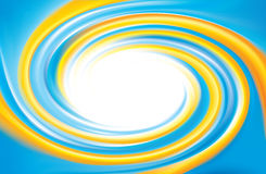 Vector background. Mix of national Ukrainian colors: yellow and Royalty Free Stock Photo