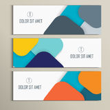 Vector background of modern material design Royalty Free Stock Image