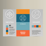 Vector background of modern material design Stock Images
