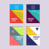 Vector background of modern material design Royalty Free Stock Images