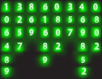 Vector background from numbers. Stock Photography