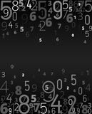 Vector background from numbers Royalty Free Stock Image