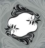 Vector background with ornate frame Stock Photos