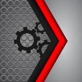 Vector background overlap dimension modern line bar design for t Stock Images