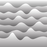 Vector background with paper waves. For web sites, presentations and your design Stock Photography