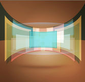 Vector background with pastel colors Royalty Free Stock Photos
