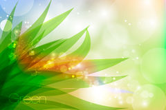 Vector background in pastel colors with green Royalty Free Stock Images