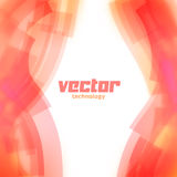Vector background with pink blurred lines Royalty Free Stock Photo