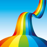 Vector background. Rainbow. Royalty Free Stock Photography