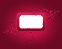 Vector background with rectangular frame Royalty Free Stock Photos