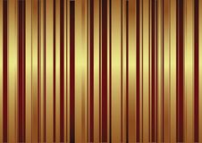 Vector background with red and golden stripes Stock Images