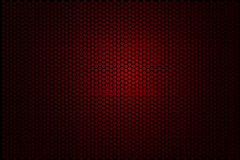 Vector for Background - red Hexagon Stock Image