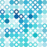 Vector background of repeating geometric stars. Geometric backgr Royalty Free Stock Image