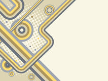 Vector background in retro style Royalty Free Stock Image