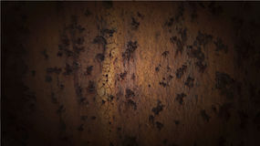 Vector background of rust metal. Royalty Free Stock Photo
