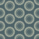Vector background with a seamless pattern Stock Image