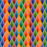 Vector background seamless of rhombuses. Stock Photos