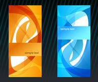 Vector background set. For your design Royalty Free Stock Photos