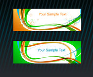 Vector background set Royalty Free Stock Image