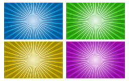 Vector background set of gradient radial. EPS 10 Vector vector illustration
