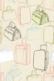 Vector background with shopping bag. Vector Stock Photos