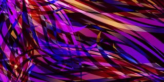 Vector background of smooth colored colorful lines. For registration of paper or postcards Stock Image