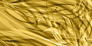 Vector background of smooth wheat lines. For registration of paper or postcards Stock Photos