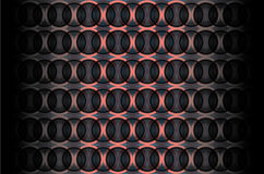 Vector background with space circles Royalty Free Stock Photos