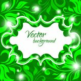 Vector background spring petals Stock Photography