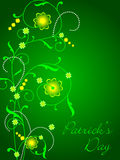 Vector background for St. Patrick's Day. Royalty Free Stock Images