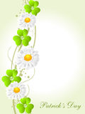 Vector background for St. Patrick's Days. Royalty Free Stock Image
