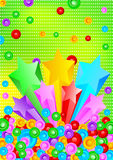 Vector background with star royalty free stock images
