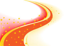 Vector background with star stock illustration