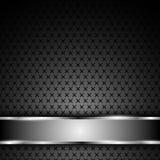 Vector background steel texture chromium bar Stock Photography