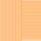 Vector background. Striped, orange, similar to wood Royalty Free Stock Photo