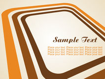 vector background with stripes and space for text Stock Photo