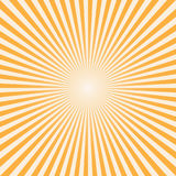 Vector background sun rays with white and orange color Royalty Free Stock Images