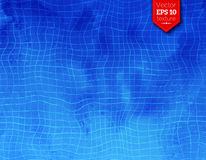 Vector background with swimming pool tiles Royalty Free Stock Image