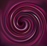 Vector background swirling dark purple liquid Royalty Free Stock Photos