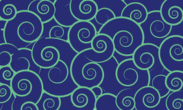 Vector background with swirls Royalty Free Stock Photo
