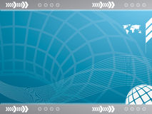 Vector background with technology Stock Images