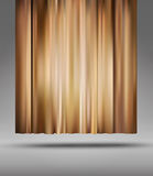 Vector background with theatre  curtain Royalty Free Stock Photo