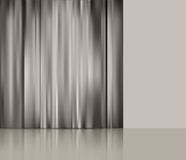Vector background with theatre  curtain Royalty Free Stock Image