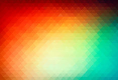 Vector background from triangle polygons Royalty Free Stock Photo