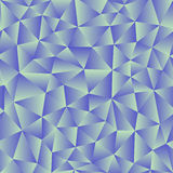Vector background of triangles with a blue gradient fill. Ready Stock Images