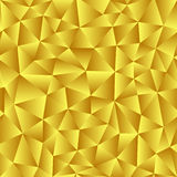 Vector background of triangles with a golden gradient fill. Read Stock Photography