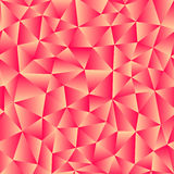 Vector background of triangles with a red gradient fill. Ready f Stock Images