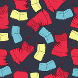 Vector background with underwear Royalty Free Stock Photos