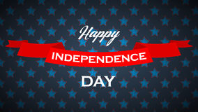 Vector background for USA Independence Day. Royalty Free Stock Photography